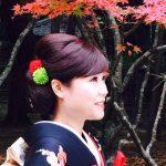 花嫁と紅葉…♡素敵に決まってる。