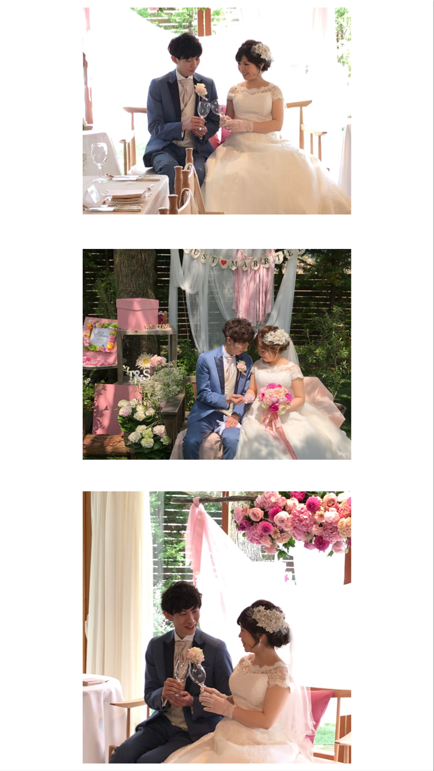 wedding day❤︎