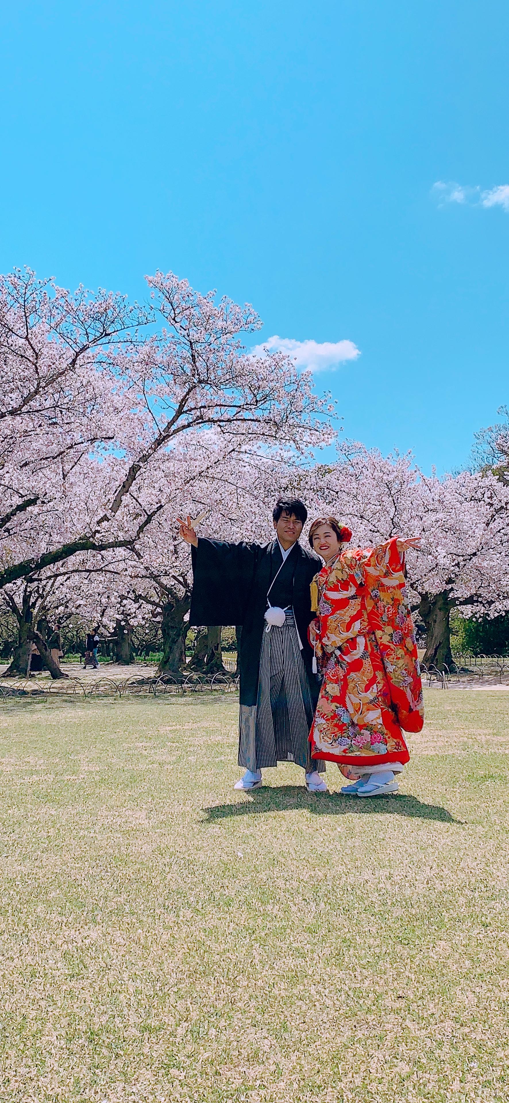 今年サイコーの桜♡